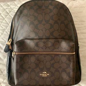Coach Signature Charle Backpack